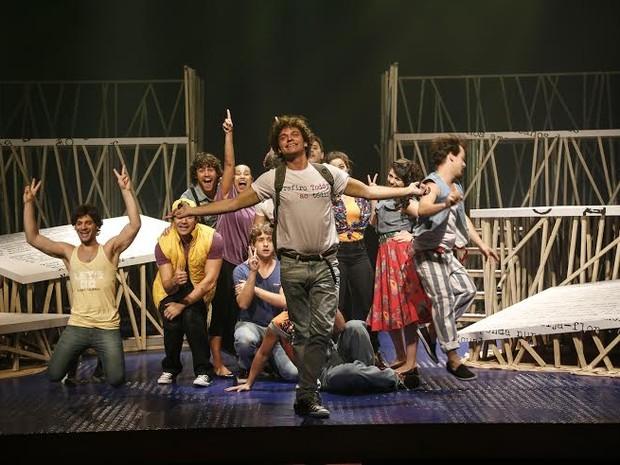 Musical sobre a vida de Cazuza  desembarca em Vitória (Foto: Leo Aversa/ Divulgação Cazuza)