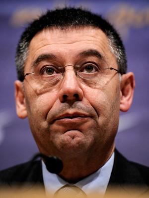 Coletiva Josep Maria Bartomeu Presidente Barcelona (Foto: AFP)