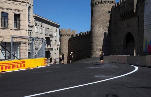 Azerbaijão recebe a Fórmula 1 pela primeira vez (Foto: Divulgação)