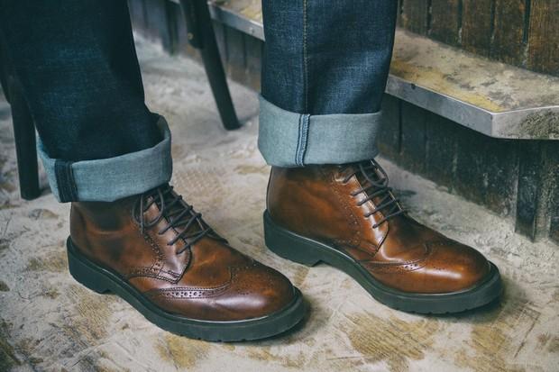 Sapatos clássicos entram no repertório da NON (Foto: Divulgação)