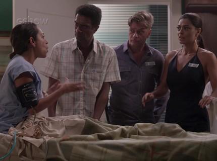 Teaser 2/3 - Dorinha recorda a consciência e acha que é Carolina
