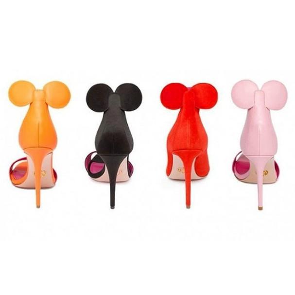 Sapatos com orelhinhas da Minnie são nosso desejo do dia! (Foto: Divulgação)