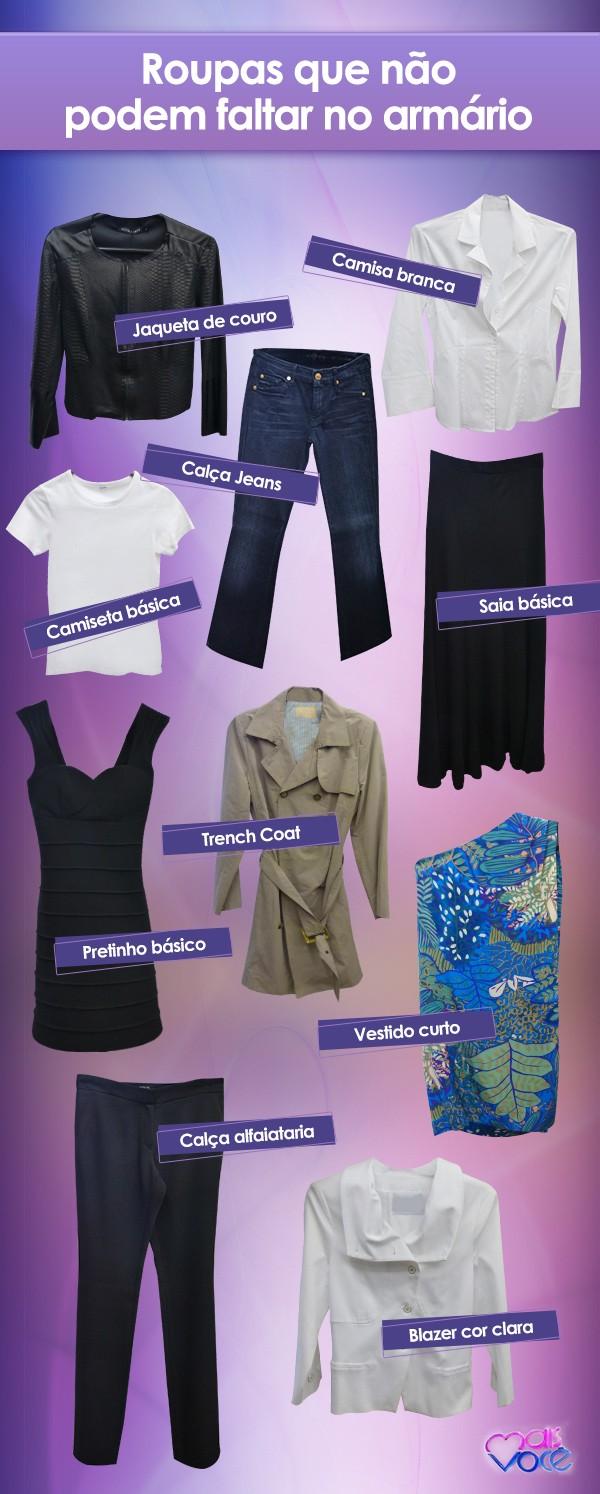 f2ea80457 Confira 10 peças de roupa que não podem faltar no seu armário (Foto  Mais