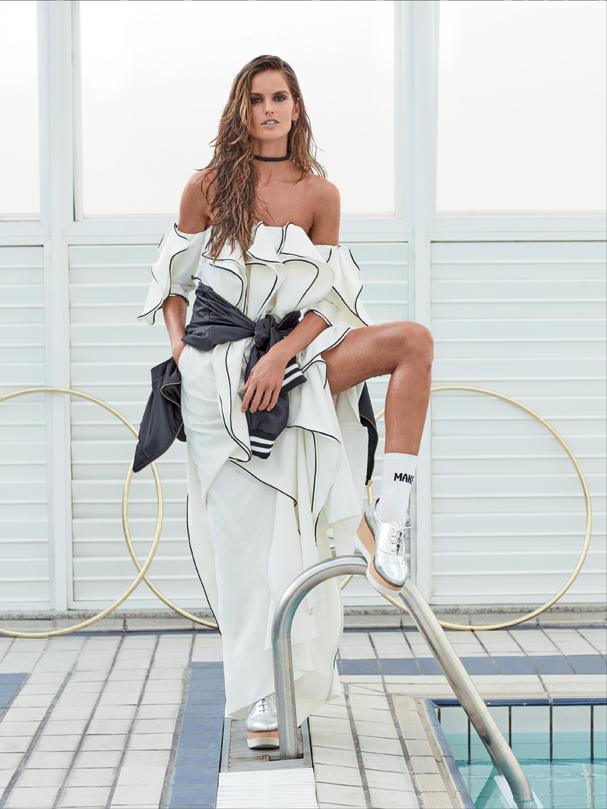 Izabel Goulart (Foto: Bob Wolfenson/Revista Glamour )