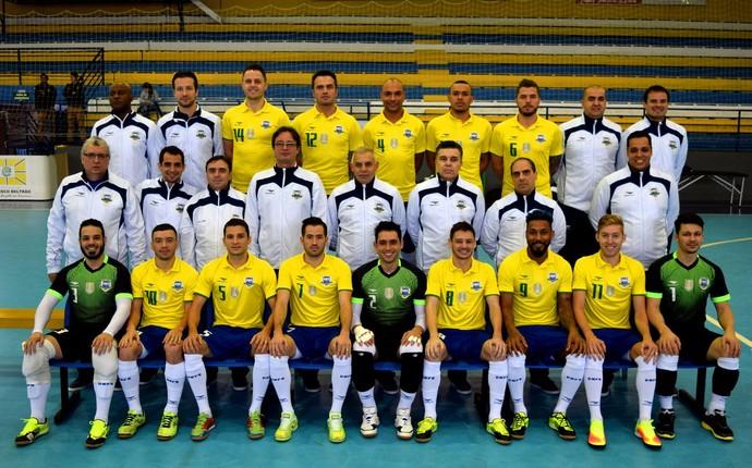 Seleção brasileira de futsal treino Mundial 2016 (Foto  Adolfo  Pegoraro Divulgação) 799c5ff862385