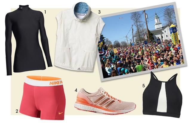 Maratona de Boston (Foto: Getty Images e Divulgação)