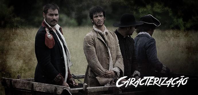 Caracterização (Foto: TV Globo / Gshow)