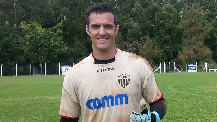 Rafael Córdova Araxá Esporte (Foto: Maritza Borges)