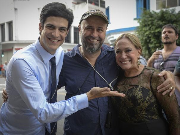 Susana Vieira e Mateus Solano serão mãe e filho em Sangue Bom (Foto: Divulgação/TV Globo)