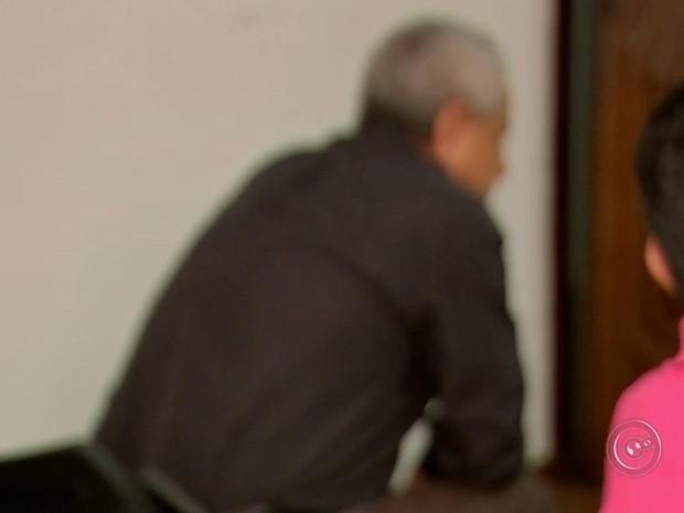 Homem foi detido e liberado por falta de provas (Foto: Reprodução / TV TEM)