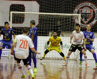 Joinville Futsal x São José Futsal Liga Nacional de Futsal (Foto: Brenno Domingues/Quarttus Marketing)