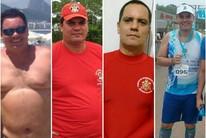 Após aposta, bombeiro seca 36kg em 6 meses (Marcelo Arruda/arquivo pessoal)