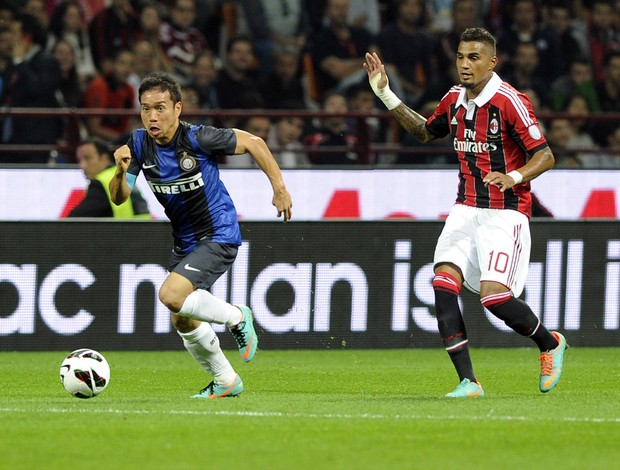 boateng nagatomo milan x internazionale (Foto: Getty Images)