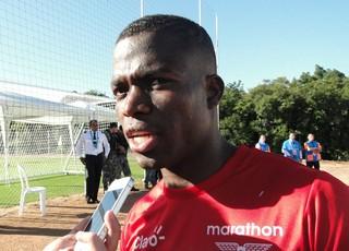 Jogador do Pachuca, Enner Valencia é o artilheiro do Campeonato Mexicano (Foto: Laion Espíndula/GloboEsporte.com)