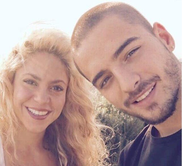 Maluma e Shakira, nova parceria, lanando o single 'Chantaje' (Foto: Reproduo/Instagram)