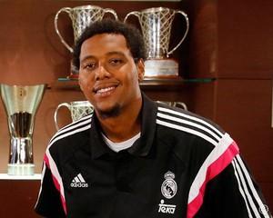 Trey Thompkins, jogador do Real Madrid basquete (Foto: Divulgação / Real Madrid)