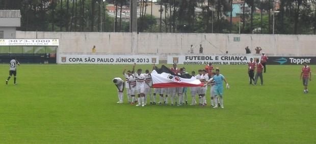 Santa Cruz vence o Ceará pela primeira rodada da Copa São Paulo (Foto: Diego Vivan / Globoesporte.com)
