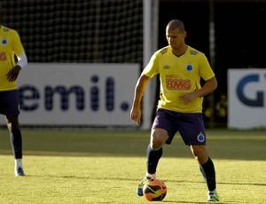 Nilton, Cruzeiro, Toca da Raposa II, treino (Foto: Washington Alves / Vipcomm)