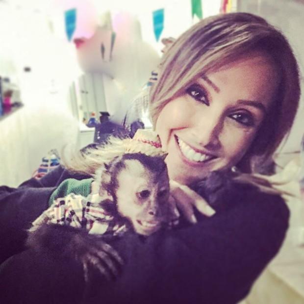 Ana Carol com Twelves (Foto: Instagram / Reprodução)