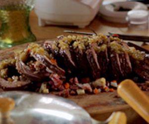 Picanha invertida: veja como fazer a carne de forno recheada