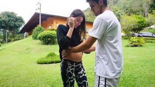 Felipe Simas e Mariana Uhlmann (Foto: Reprodução/ Instagram)