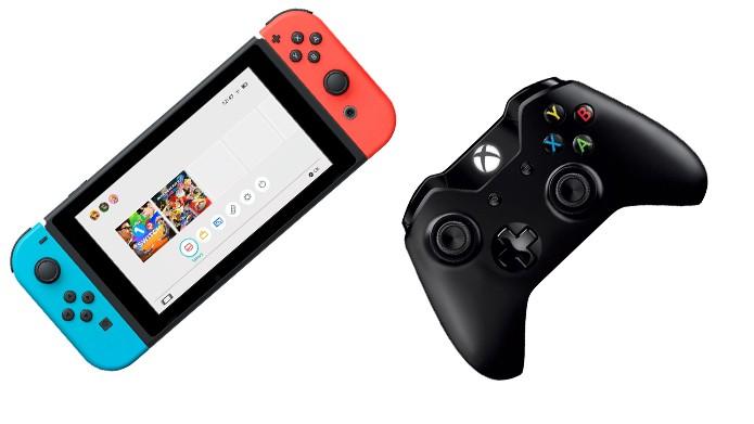 Nintendo Switch vs Xbox One (Foto: Reprodução/Murilo Molina)