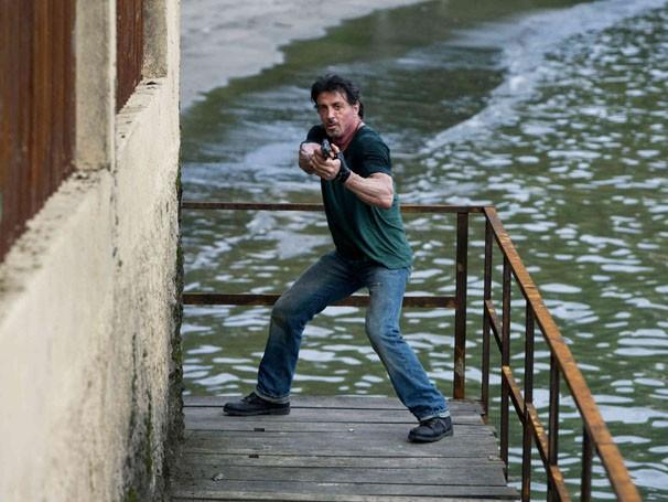 Stalone gravou cenas no Rio de Janeiro (Foto: Divulgação / Reprodução)