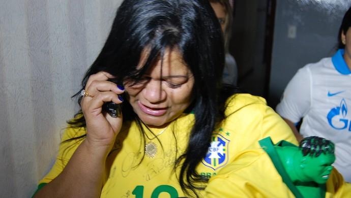 Socorro Souza, mãe de Hulk (Foto: Silas Batista / GloboEsporte.com)