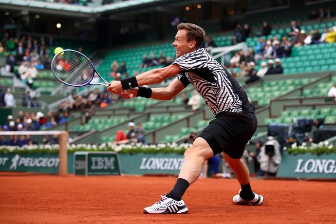 Tomas Berdych Roland Garros (Foto: Getty Images)