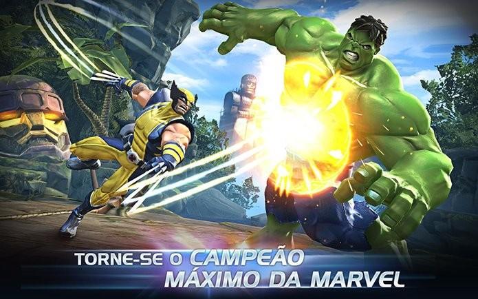 Jogo de luta da Marvel para Android tem gráficos dignos de videogames como PS3 e Xbox 360 (Foto: Divulgação)
