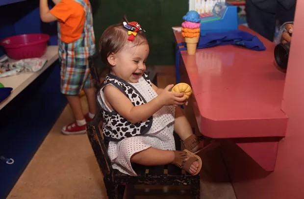 Helena festeja primeiro aniversário em buffet de São Paulo (Foto: Thalita Castanha)