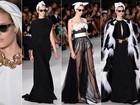 Giambattista Valli apresenta coleção de alta-costura no segundo dia da semana de moda de Paris