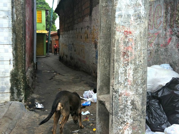 Vários assassinatos ocorreram no Beco Boa Sorte, em Manaus (Foto: Ive Rylo/G1 AM)