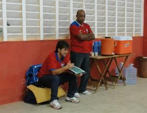 Evandro Forte, técnico do Potyguar de Currais Novos (Foto: Josivan Varela/Divulgação)