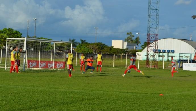 Vilhena treino para Rondoniense (Foto: Dennis Weber)