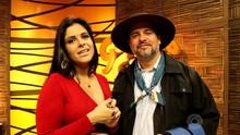 Shana e Érlon Péricles falam sobre música da campanha de inverno (Reprodução/RBS TV)