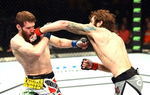 Michael Chiesa X Mitch Clarke, UFC (Foto: Getty Images)