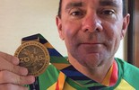 Conquista brasileira em NY:20kg mais magro, Fabio realiza sonho de infância (Arquivo Pessoal)