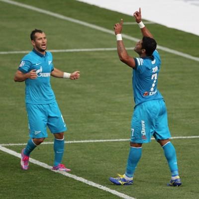 hulk gol zenit x Ufa  (Foto: Site Oficial Zenit)