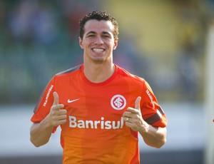 Leandro Damião centroavante Inter (Foto: Alexandre Lops / Divugação Inter)