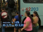 Passagem de ônibus em Fortaleza vai custar R$ 3,20