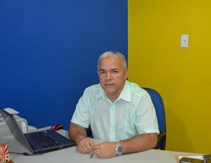 Presidente da AABB, Elon Machado. (Foto: Quésia Melo)