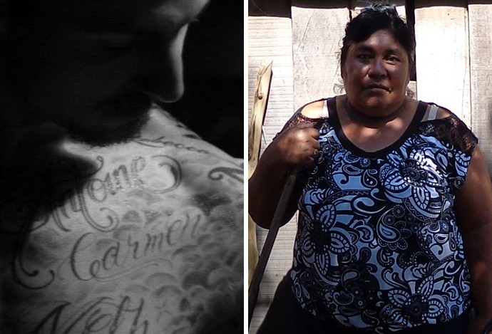 Ibrahimovic tatuagem Carmen (Foto: Reprodução)