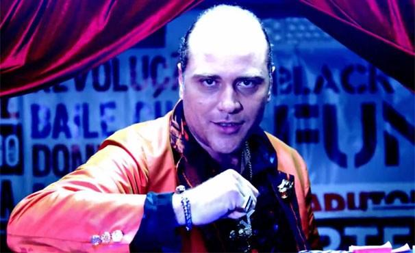 O personagem costa é empresário do mundo dos bailes funk (Foto: Divulgação/TV Globo)