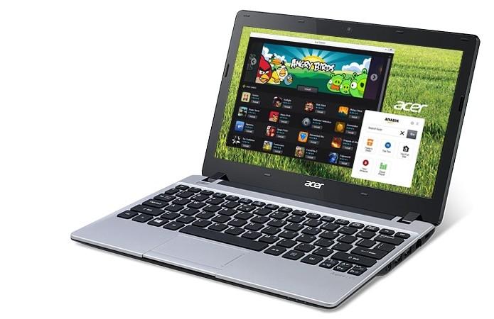 Notebook Acer Aspire V5 com tela de 11,6 polegadas (Foto: Divulgação/Acer)