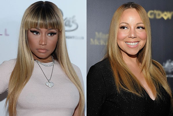 Nicki Minaj e Mariah Carey (Foto: Getty Images)