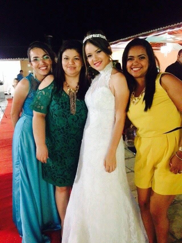 Tamires Sampaio é muito ligada à família e amigos (Foto: Arquivo Pessoal)