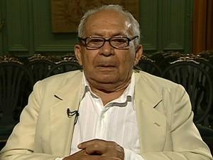 Poeta e jornalista Lêdo Ivo morre aos 88 anos (Foto: Reprodução Globo News)