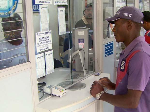 Ganhador da mega-sena ainda não apareceu para resgar o dinheiro em Ipuiúna (MG) (Foto: Reprodução EPTV)
