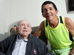 Roberto Neves, corerdor idoso (Foto: Vital Florêncio / GloboEsporte.com)